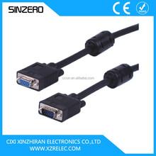 hdmi female to vga male cable/vga cable 30m/vga to av cable