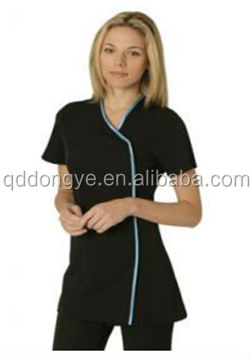 China fashion women spa uniform tunic buy spa uniform for Spa uniform alibaba