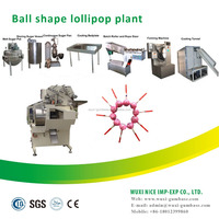 multi-functioned ball lollipop candy forming machine