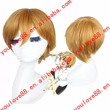High Quality Fashion Cheap easy man cosplay costumes wig For Party/Decration/Gift /Cosplay/chrismasL1504L91-92C