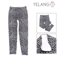 2015 Hot Selling New Style Leopard Women Wholesale Custom Pants