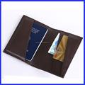 Nueva PU unisex cubierta de pasaporte pasaporte / caja