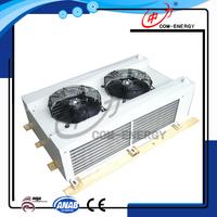 Fridge condenser, evaporative air cooler