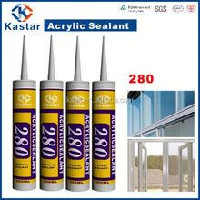 oem welcome sealant caulk 100%flexible,acrylic,waterbased,paintable