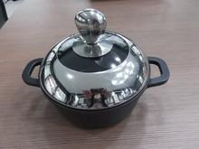 die cast&non-stick aluminum cookware\casserole\soup pan