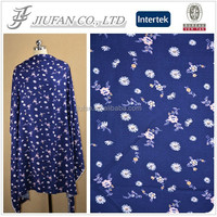 Jiufan Textile Woven Rayon Twill Fabric Supplier in Shaoxing Printting Hot Sale 100% Viscose Fabric