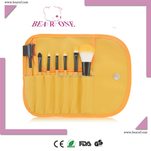 Eyebrow brush 7pcs makeup brush factory price with various colors and types