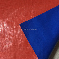 fire retardent tent tarpaulin with eyelet and reinforced corner