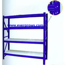 Factory price Advertising Equipment Warehouse Light Storage Rack Iron Stacking Shelves