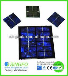 Epoxy Resin Solar Panel / 3V Monocrystalline Epoxy Solar Panel