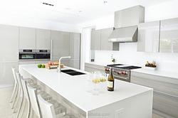 whole white kitchen cabinet with granite countertop hot sale