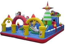 Cheer Amusement leisure inflatable pirate ship playground