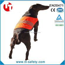 safety vest factory from China orange hunting dog vest