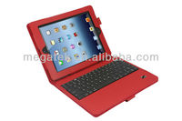 tablet case cover Pu leather with bluetooth keyboard case for ipad mini, for ipad case keyboard,for ipad mini case