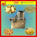 2013 venta caliente del acero inoxidable de papa industrial pelar patatas y cortadora