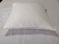 233T cotton down proof pure white 20% goose down cushion MS-239