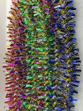 colored shiny tree branch garland fashionable hang christmas tree garland