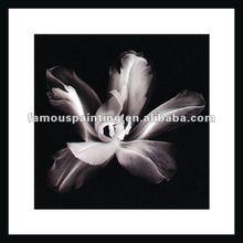 imágenes de vidrio pintura de flores