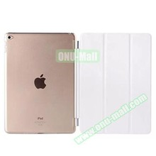 3 Folding Pattern for iPad 6 PU Leather Printing Case Smart Cover