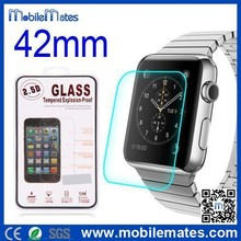 High Quality 2.5D 9H Explosion-proof Tempered Glass Protective Film Guard Screen Protector for Apple Smart Watch 42mm / 38mm