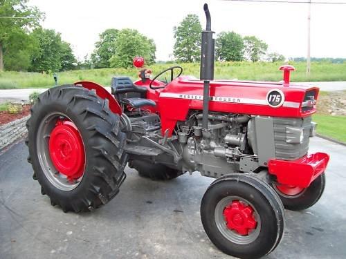 Massey 175 Diesel : Massey ferguson tractor diesel sharp buy