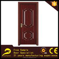 modern commercial new style metal clad steel wood door wholesale