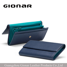 Wholesale Lady Designer Magic Luxury Genuine Leather Woman Wallet