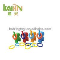 Colorful Children Plastic Funny Elephant Circles