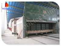 High quality artificial small tunnel brick dryer with short time construction