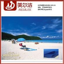 Great varieties non slip waterproof material for beach mat