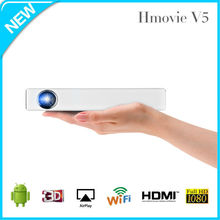 Android Projector HD 1080p WiFi Projector 1280X800P amazing images for home Cinima Projector