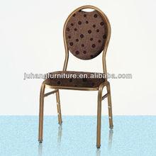 Round Back Aluminum steel Banquet Chair
