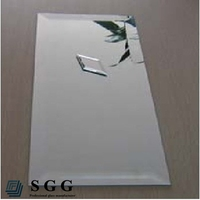 High quality half silvered mirror, 2mm,3mm 4mm,5mm,6mm