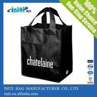 China promotional fashion custom Shopping Woven Bag
