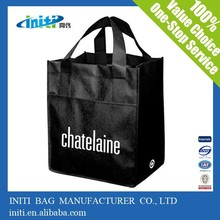 China promotional fashion custom Shopping Woven Bag