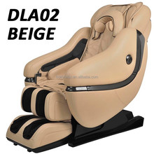 2015 new Luxury zero gravity massage chair with L shape back track, foot roller, bluetooth, app, rocking, full body massage