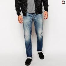 heston straight fit classic worn light wash men jeans pent JXH189