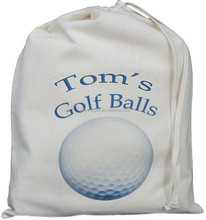 China new production Eco friendly drawstring canvas golf bag
