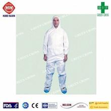 Buena calidad tipo 5/6 microporosa desechables impermeable transpirable y cómodo sobretodo