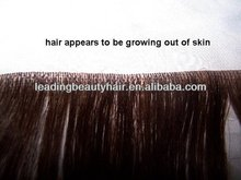 Super Quality 20inch Brazilian hair Blue colour tape hair extension/ thin skin weft