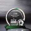 Optical Crystal Golf Ball Sports Tower Award Souvenir