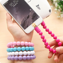 2015 new arrival hot sale bracelet date cable