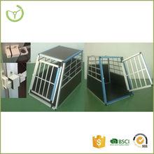 XY-CB-15002 aluminium dog cage outdoor single door dog cage house cheap