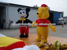 Inflatable moving cartoon for bear character
