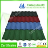 colorful stone coated alu-zinc steel roof tile shingles