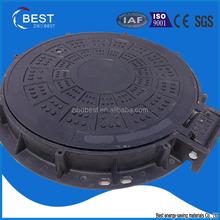 C250 EN124 manhole cover in plastic