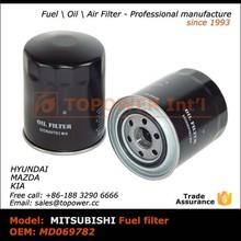 Mitsubishi oil filter md069782 Japanese car oil filter