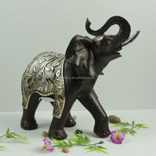 Resin Walking Elephant Statue for Home/Garden Decoration