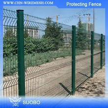 SUOBO Anti Climb Fence Salt Water Resistant Secuifor 2D Varimesh Wire Mesh Fence Metal Galvanized Farm & Field Fence