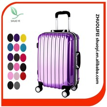 pc material striped vantage best business travel luggage with TSA lock